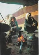 Israël - Bedouin Preparing Coffee In Their Tent - Bedouin Faisant Du Café - Israel