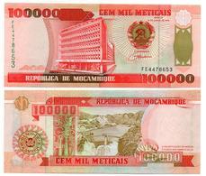 Mozambique - 100000 Meticais 1993 (UNC) - Mozambique