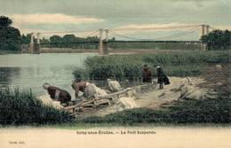 91 SOISY SOUS ETIOLLES Le Pont Suspendu - France
