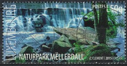 Luxembourg 2015 Oblitéré Used Naturpark Mëllerdall Parc Naturel SU - Usados