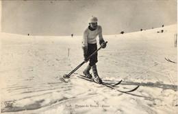 Plateau Du Revard - Skieur - France