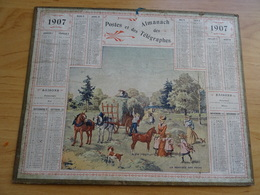 Almanach Des Postes De 1907 La Rentree Des Foins - Grand Format : 1901-20