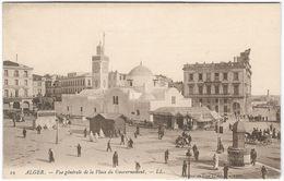 ALGIERS General View Government Place Unused C1900 (ref 19) [P125/1D] - Algiers
