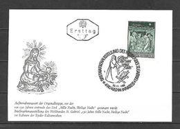 1968 - N. 1107 SU CARTOLINA CON ANNULLO PRIMO GIORNO (CATALOGO UNIFICATO) - FDC