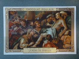 Chromo, Série Musée Du Louvre - N°10 La Mort De Sénèque - Ecole Italienne - Luca Giordano - Poulain
