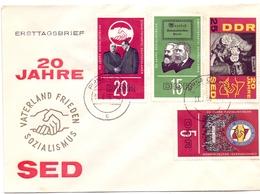 DDR WATERLAND PEACE SOCIALISM  (GEN190148) - [6] Democratic Republic