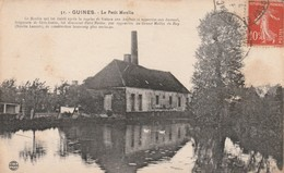 Rare Cpa Guines Le Petit Moulin - Guines