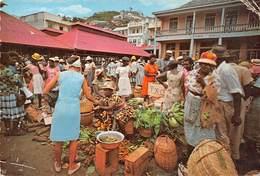 Grenade West Indies Colourfu Nativ Market - Grenada