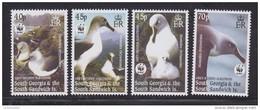 South Georgia 2003 WWF/Grey Headed Albatross 4v  ** Mnh (41704C) - Zuid-Georgia