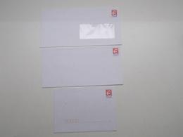 LOT DE 3 PAP EUROS - Postal Stamped Stationery