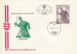 AUSTRIA FDC 1377 - FDC