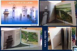 Sri Lanka Stamps 2018,  Lighthouses, Booklet - Sri Lanka (Ceylon) (1948-...)