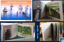 Sri Lanka Stamps 2018,  Lighthouses, Booklet - Sri Lanka (Ceylan) (1948-...)