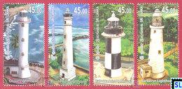 Sri Lanka Stamps 2018, Lighthouses, MNHs - Sri Lanka (Ceylan) (1948-...)