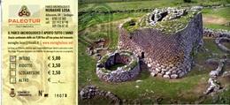 Parc Archéologique De Nuraghe Losa - Abbasanta (Sardaigne - Italie) - Tickets D'entrée