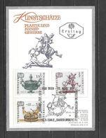 1971 - N. 1184/86 SU CARTOLINA CON ANNULLO PRIMO GIORNO (CATALOGO UNIFICATO) - FDC