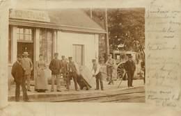 MONNERVILLE  La Gare - Carte Photo - - Autres Communes