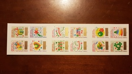 """CARNET ADHESIF BC 1336 """"VOEUX TIMBRES A GRATTER"""" FRANCE 2016 - Booklets"""