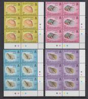 South Georgia 1988 Shells 4v Bl Of 6 ** Mnh (41704D) - Zuid-Georgia