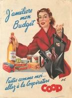 Buvard Ancien COOP - COOPERATIVE - Alimentaire
