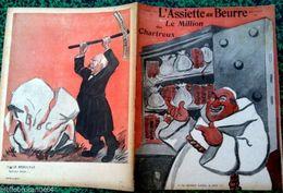 """REVUE * L'ASSIETTE AU BEURRE * N°172 Du 16/7/1904 """" LE MILLION DES CHARTREUX """" - Books, Magazines, Comics"""