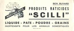 Buvard Ancien PRODUITS RATICIDES - SCILLI - DOUAI - Buvards, Protège-cahiers Illustrés