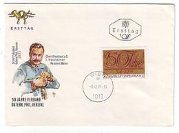 FDC AUSTRIA 1380 - FDC