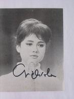 AUTOGRAPHE - DEDICACE - CARTE SIGNEE - GIGLIOLA CINQUETTI - Autographs