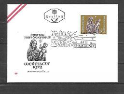 1972 - N. 1234 SU BUSTA CON ANNULLO PRIMO GIORNO (CATALOGO UNIFICATO) - FDC