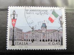 *ITALIA* USATI 2004 - 50° TRIESTE ALL'ITALIA - SASSONE 2784 - LUSSO/FIOR DI STAMPA - 6. 1946-.. Repubblica