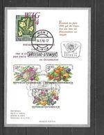 1974 - N. 1274/76 SU CARTOLINA CON ANNULLO PRIMO GIORNO (CATALOGO UNIFICATO) - FDC