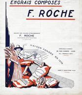 69 LYON Usine à  SAINT FONS Catalogue Engraixs Composés Chimiques Organiques F. ROCHE X8 - France