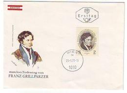 FDC AUSTRIA 1381 - FDC