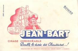 Buvard Ancien CIRAGE JEAN BART - MANUFACTURE DE ROUBAIX - Produits Ménagers