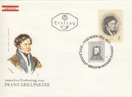 AUSTRIA FDC 1381 - FDC