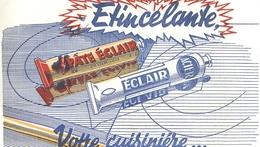 Buvard Ancien PATE ECLAIR - ETINCELANTE - ACIER - Produits Ménagers