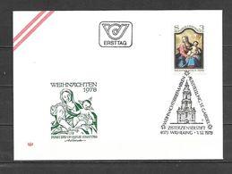 1978 - N. 1421 SU BUSTA CON ANNULLO PRIMO GIORNO (CATALOGO UNIFICATO) - FDC