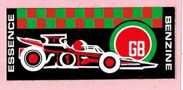 Sticker - ESSENCE - Race Auto - GB - BENZINE - Autocollants