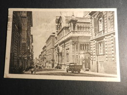 19860) GENOVA VIA ASSAROTTI CHIESA IMMACOLATA BINARI TRAM CAMION VIAGGIATA 1940 - Genova (Genoa)