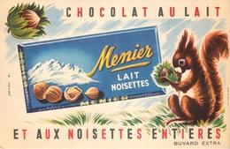 Buvard Ancien CHOCOLAT MEUNIER - LAIT NOISETTES - Chocolat
