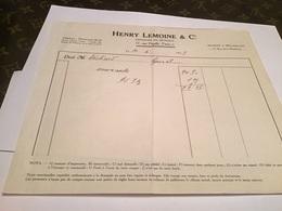Éditeur R De Musique Henry  Lemoine Et Compagnie  Maison à Bruxelles - Petits Métiers