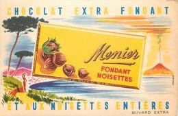 Buvard Ancien CHOCOLAT MEUNIER - FONDANT NOISETTES - Cocoa & Chocolat