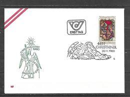 1980 - N. 1491 SU BUSTA CON ANNULLO PRIMO GIORNO (CATALOGO UNIFICATO) - FDC