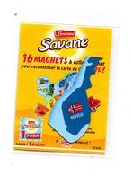 Magent Savane Brossard  Europe  Norvege - Magnets