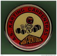 KARTING *** CARPENTRAS *** Signe FC PIN'S *** 0063 - Car Racing - F1