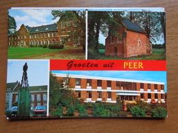 Groeten Uit Peer (College, Deusterkapel, Pomp, Monsheide) --> Onbeschreven - Peer