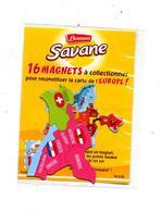 Magent Savane Brossard  Europe Suisse Atriche  Hongrie Etc - Magnets