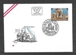 1981 - N. 1520 SU BUSTA CON ANNULLO PRIMO GIORNO (CATALOGO UNIFICATO) - FDC