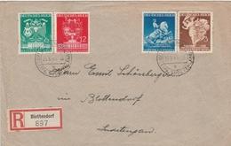 Allemagne Lettre Recommandée Blottendorf 1941 - Germany