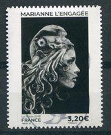 FRANCE 2018 Marianne L'Engagée    Grand Format   Oblit / Used - 2018-... Marianne L'Engagée
